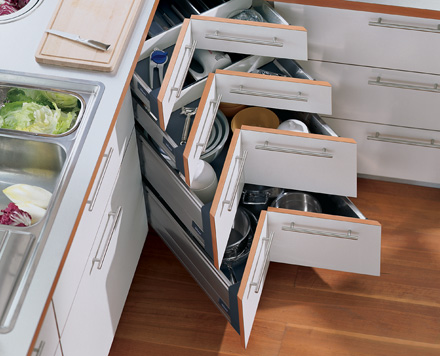 The Corner Drawer System Sacramento Kitchen Design Blog Classy Columbia Kitchen Cabinets